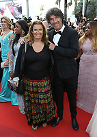 LISA AZUELOS ERIC LAVAINE<br /> The Beguiled' Red Carpet Arrivals - The 70th Annual Cannes Film Festival<br /> CANNES, FRANCE - MAY 24 attends the 'The Beguiled' screening during the 70th annual Cannes Film Festival at Palais des Festivals on May 24, 2017 in Cannes, France