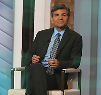 January 12, 2021.  George Stephanopoulos at  Good Morning America in New York January 12, 2021 Credit:RW/MediaPunch