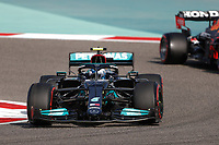 27th March 2021; Sakhir, Bahrain; F1 Grand Prix of Bahrain, Qualifying sessions;  77 BOTTAS Valtteri (fin), Mercedes AMG F1 GP W12 E Performance during Formula 1 Gulf Air Bahrain Grand Prix 2021 qualifying as he takes 3rd on pole