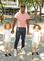 """Kevin Adams and his sons at the """"Spirit Untamed"""" special screening, Curzon Bloomsbury, Brunswick Centre, Brunswick Square, on Sunday 18 July 2021, in London, England, UK. <br /> CAP/CAN<br /> ©CAN/Capital Pictures"""