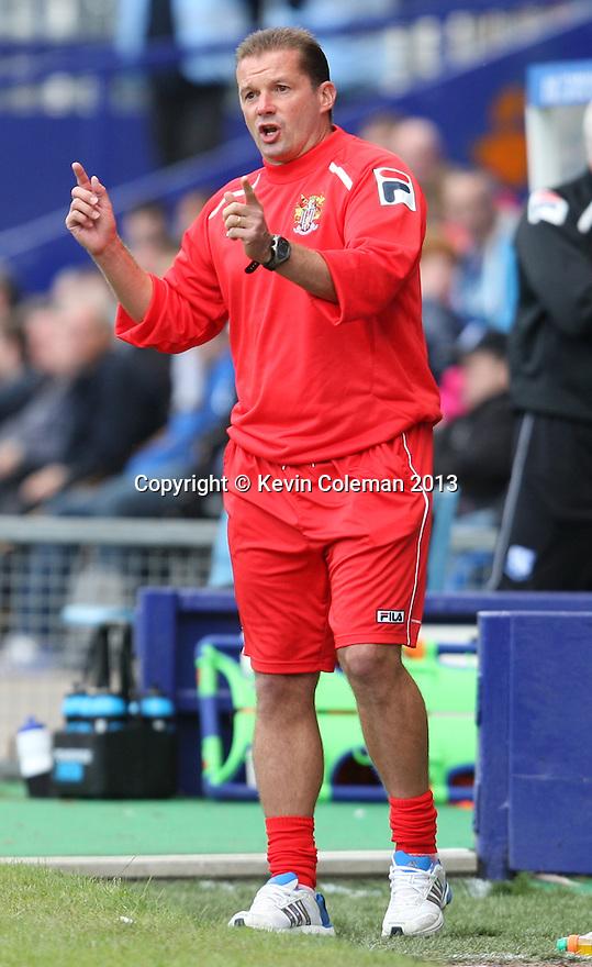 Stevenage manager Graham Westley<br />  - Tranmere Rovers v Stevenage - Sky Bet League One - Prenton Park, Birkenhead - 7th September 2013. <br /> © Kevin Coleman 2013