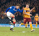 :: NIKICA JELAVIC TRIES TO CONTROL THE BALL AS STEVEN HAMMELL LOOKS ON ::