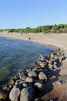 Strand von Palanga, Litauen, Europa
