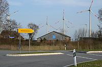 Germany, Green Hydrogen Project Westküste100, project plan green hydrogen generation with power from wind turbines / DEUTSCHLAND, Schleswig-Holstein, Wasserstoff-Projekt Westküste 100, Konsortium plant Erzeugung von grünem Wasserstoff mit Windstrom