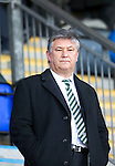 St Johnstone v Celtic.....12.04.11.Peter Lawwell.Picture by Graeme Hart..Copyright Perthshire Picture Agency.Tel: 01738 623350  Mobile: 07990 594431