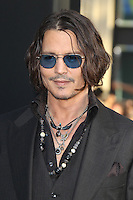 Johnny Depp at the premiere of Warner Bros. Pictures' 'Dark Shadows' at Grauman's Chinese Theatre on May 7, 2012 in Hollywood, California. ©mpi26/ MediaPunch Inc.