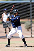 Ali Solis  - San Diego Padres - 2009 spring training.Photo by:  Bill Mitchell/Four Seam Images
