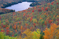 Kettle Pond<br />   from Owl'sHead Mountain<br /> Groton State Forest<br /> Vermont