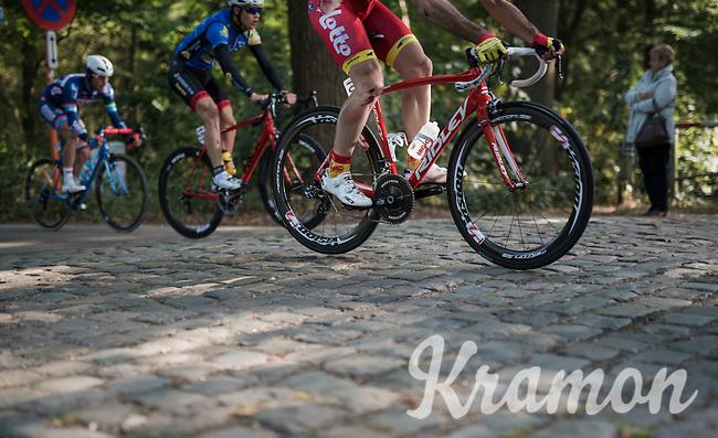 jumping the cobbles<br /> <br /> 83rd Nationale Sluitingsprijs Putte-Kapellen 2016 (UCI Europe Tour cat 1.1 / 189km)