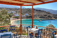 Taverna in Panagias Limani of Karpathos, Greece