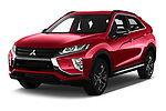 2020 Mitsubishi Eclipse-Cross BLACK-Collection+ 5 Door SUV Angular Front automotive stock photos of front three quarter view