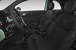 Front seat view of a 2015 Fiat 500 Sport Door Hatchback Front Seat car photos