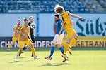 20.02.2021, xtgx, Fussball 3. Liga, FC Hansa Rostock - SV Waldhof Mannheim, v.l. Pascal Breyer (Hansa Rostock, 39), Jesper Verlaat (Mannheim, 4) Zweikampf, Duell, Kampf, tackle <br /> <br /> (DFL/DFB REGULATIONS PROHIBIT ANY USE OF PHOTOGRAPHS as IMAGE SEQUENCES and/or QUASI-VIDEO)<br /> <br /> Foto © PIX-Sportfotos *** Foto ist honorarpflichtig! *** Auf Anfrage in hoeherer Qualitaet/Aufloesung. Belegexemplar erbeten. Veroeffentlichung ausschliesslich fuer journalistisch-publizistische Zwecke. For editorial use only.