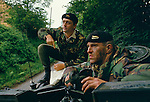 Territorial Army 1990s UK. Duke of Westminster the 6th duke. Weekend manoeuvres Cheshire England.