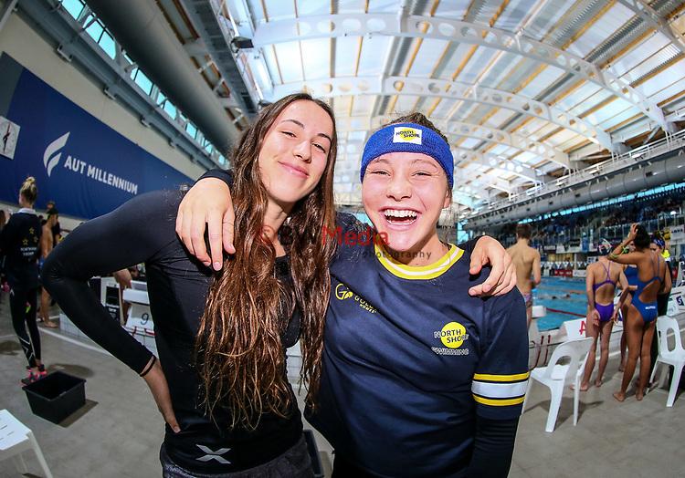 AON Swimming New Zealand National Age Group Swimming Championships, National Aquatic Centre, Auckland, New Zealand, Thursday 19 April 2018. Photo: Simon Watts/www.bwmedia.co.nz