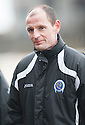 Queen of the South manager Allan Johnston.