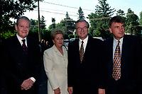 Le maire Gilles Vaillancourt<br />  au Funerailles du senateur Rizutto, le 7 aout 1997,  a L'eglise Saint-Jean-Goualbert a Laval-sur-le-lac.<br /> <br /> PHOTO :  Agence Quebec Presse<br /> <br /> Les images commandees seront recadrees lorsque requis