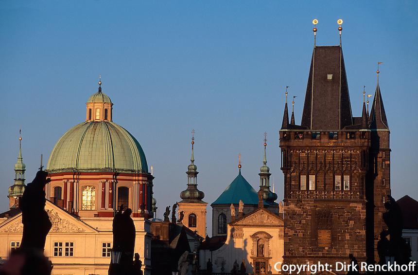 Kreuzherren-Kirche, Prag, Tschechien, Unesco-Weltkulturerbe