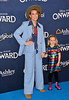 "LOS ANGELES, CA: 18, 2020: Brandi Carlile & Evangeline Ruth Carlile at the world premiere of ""Onward"" at the El Capitan Theatre.<br /> Picture: Paul Smith/Featureflash"