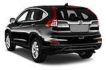 Car pictures of rear three quarter view of 2015 Honda CR-V Elegance 5 Door SUV Angular Rear
