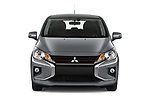 Car photography straight front view of a 2020 Mitsubishi Space-Star Red-Line-Edition 5 Door Hatchback Front View