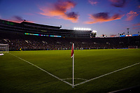 PASADENA, CALIFORNIA - August 03: USWNT vs Ireland at the Rose Bowl during their international friendly and the USWNT Victory Tour match between Ireland and the United States at the Rose Bowl on August 03, 2019 in Pasadena, CA.