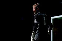 28th August 2021; Carrow Road, Norwich, Norfolk, England; Premier League football, Norwich versus Leicester; Kasper Schmeichel of Leicester City