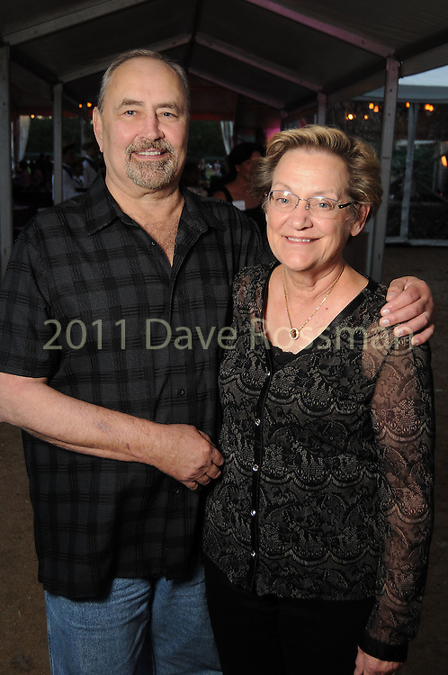 Bob Brown and Carol Dinkins at the Nature Conservancy's Nature Rocks  Gala at the Houston Polo Club Thursday Oct. 22,2015.(Dave Rossman photo)