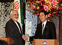 Iranian Foreign Minister Javad Zarif in Japan