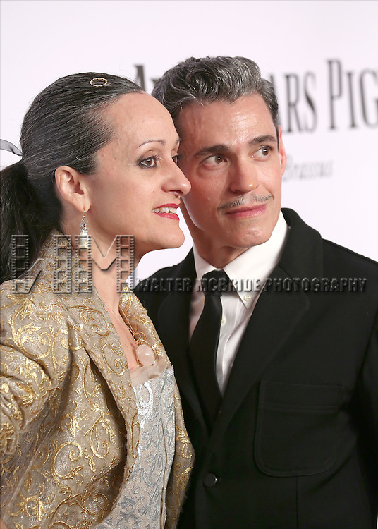 Isabel Toledo and Ruben Toledo attending the The 68th Annual  The Tony Awards at Radio City Music Hall on June 8, 2014 in New York City.