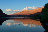 Vermilion Cliffs <br />   from Lees Ferry<br /> Glen Canyon National Recreation Area<br /> Colorado Plateau, Arizona