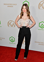 SANTA MONICA, USA. January 18, 2020: Kaitlyn Dever at the 2020 Producers Guild Awards at the Hollywood Palladium.<br /> Picture: Paul Smith/Featureflash