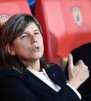 Milena Bartolini coach of Italy looks on<br /> Benevento 08-11-2019 Stadio Ciro Vigorito <br /> Football UEFA Women's EURO 2021 <br /> Qualifying round - Group B <br /> Italy - Georgia<br /> Photo Cesare Purini / Insidefoto