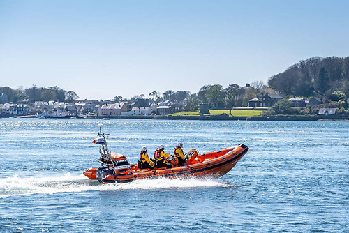 Portaferry Lifeboat Rescues Two After Boat Breaks Down on Strangford Lough