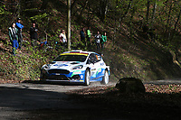 24th April 2021; Zagreb, Croatia; WRC Rally of Croatia, stages 9-16; Teemu Suninen - Ford Fiesta MkII WRC2