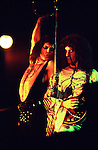 Queen 1976 Freddie Mercury and Brian May.© Chris Walter.