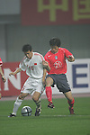 China vs Korea Republic during the 2004 Olympic Preliminary Qualifier Group A match on May 04, 2015 at the Helong Stadium in Helong, China. Photo by World Sport Group