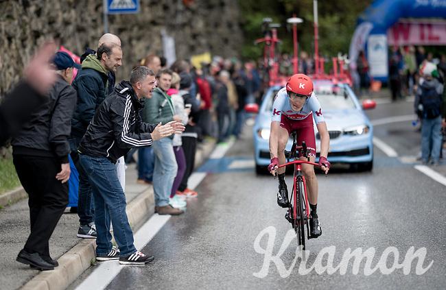 Ilnur Zakarin (RUS/Katusha-Alpecin)<br /> <br /> Stage 9 (ITT): Riccione to San Marino (34.7km)<br /> 102nd Giro d'Italia 2019<br /> <br /> ©kramon