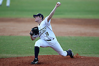 Akron Zips pitcher Scott Foster #10 during a game vs the Michigan State Spartans at Chain of Lakes Park in Winter Haven, Florida;  March 12, 2011.  Michigan State defeated Akron 5-1.  Photo By Mike Janes/Four Seam Images
