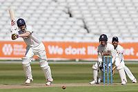 Sam Hain of Warwickshire in batting action during Warwickshire CCC vs Essex CCC, LV Insurance County Championship Group 1 Cricket at Edgbaston Stadium on 23rd April 2021