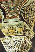 Ravenna: Temple of San Vitale--Capitello.