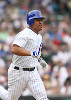 Cesar Izturis of the Chicago Cubs vs. the San Diego Padres: June 18th, 2007 at Wrigley Field in Chicago, IL.  Photo by Mike Janes/Four Seam Images