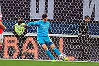 Thibaut Courtois goalkeeper of Belgium  <br /> Saint Petersbourg  - Qualification Euro 2020 - 16/11/2019 <br /> Russia - Belgium <br /> Foto Photonews/Panoramic/Insidefoto <br /> ITALY ONLY