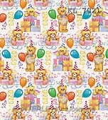 Interlitho, Keith, GIFT WRAPS, paintings, teddies, music, balloon(KL7021,#GP#) everyday