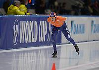 SPEEDSKATING: 09-12-2018, Tomaszów Mazowiecki (POL), ISU World Cup Arena Lodowa, 10.000m Men Division A, Marcel Bosker (NED), ©photo Martin de Jong
