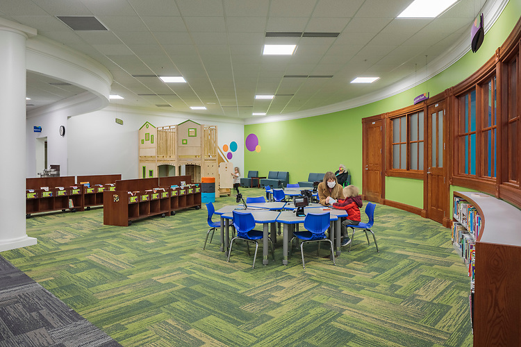 Licking County Library Main Branch Children's Area   DesignGroup