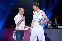 GRONINGEN - Basketbal , Open Dag met Donar - Antwerp Giants , voorbereiding seizoen 2021-2022, 05-09-2021,  Donar speler Thomas Koenis
