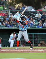 Mark Karaviotis participates in the 2019 California League All-Star Game at San Manuel Stadium on June 18, 2019 in San Bernardino, California (Bill Mitchell)