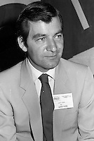 David Payne<br /> attend the Alliance Quebec Convention, June 2, 1984