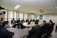 FOZ DO IGUAÇU, PR, 06.11.2019 – MINISTRO-MORO -  O ministro da Justiça e Segurança Pública, Sérgio Moro durante reunião bilateral com a delegação americana de Investigação na sede da Policia Federal em Foz do Iguaçu(PR) na tarde desta quarta-feira (06).(Foto: Paulo Lisboa/Brazil Photo Press/Folhapress)